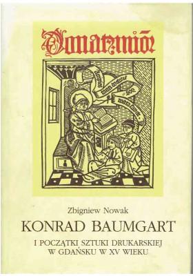 Konrad Baumgart i początki sztuki drukarskiej w Gdańsku w XV wieku