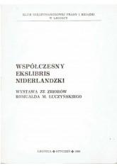 Współczesny ekslibris niderlandzki