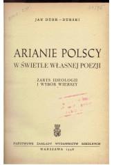 Arianie polscy w świetle własnej poezji
