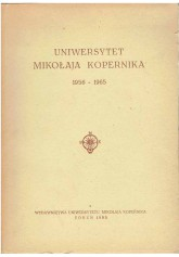 Uniwersytet Mikołaja Kopernika 1956 - 1965
