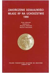 Zakończenie działalności władz RP na uchodźstwie 1990