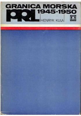 Granica morska PRL 1945 - 1950