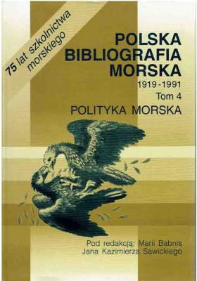 Polska bibliografia morska. T. 4