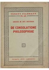 De consolatione philosophiae