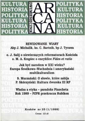 ARCANA nr 25 (1/1999)