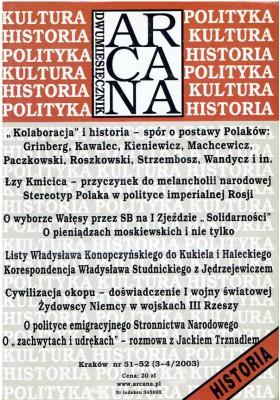 ARCANA NR 51 - 52 (3-4/2003)