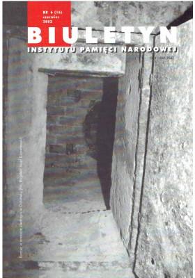 Biuletyn IPN nr 6 2002 rok