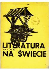 Literatura na Świecie nr 1 (138) 1983