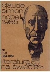 Literatura na Świecie nr 11-12 (184-185) 1986