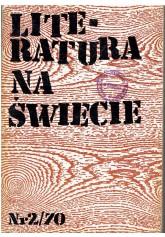 Literatura na Świecie nr 2 (70) 1977
