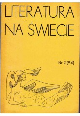 Literatura na Świecie nr 2 (94) 1979