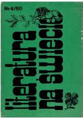 Literatura na Świecie nr 4 (60) 1976