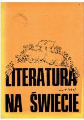 Literatura na Świecie nr 5 (121) 1981