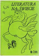 Literatura na Świecie nr 7 (51) 1975