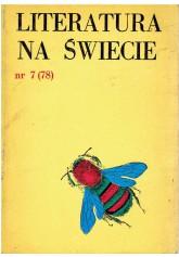 Literatura na Świecie nr 7 (78) 1978