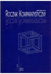 Rocznik Komparatystyczny 3/2012