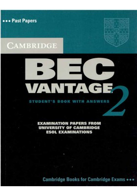 CAMBRIDGE BEC VANTAGE Student's Book with Answers 2
