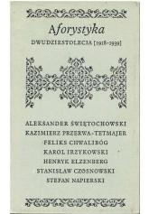 Aforystyka dwudziestolecia (1918-1939)
