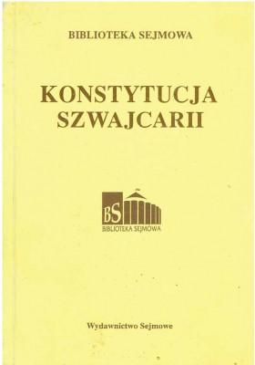 Konstytucja Szwajcarii