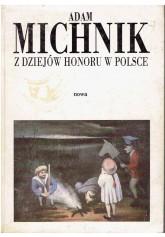 Z dziejów honoru w Polsce