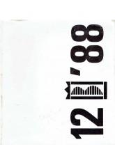 12 Międzynarodowe Biennale Grafiki Kraków '88