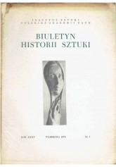 Biuletyn Historii Sztuki nr 1 1973
