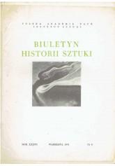 Biuletyn Historii Sztuki nr 3 1974