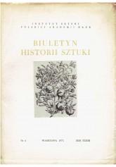 Biuletyn Historii Sztuki nr 4 1971