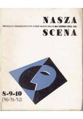 Nasza Scena. Program miesięczny PTN Łódź, sezon 1961