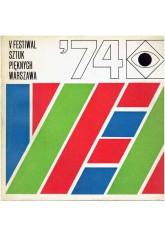 V Festiwal Sztuk Pięknych Warszawa 1974