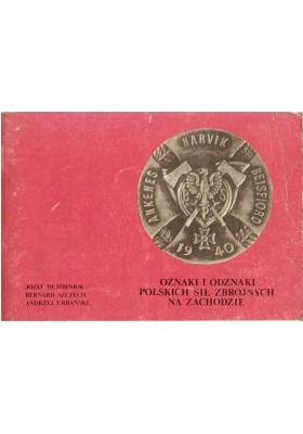 Oznaki i odznaki Polskich Sił Zbrojnych na Zachodzie. Część I