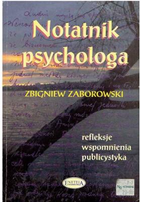 Notatnik psychologa